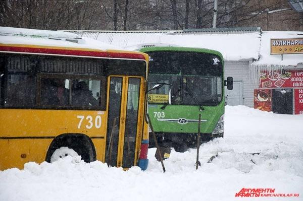 Автобусы не по расписанию…