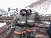 Молодые пожарные Иван и Пётр
