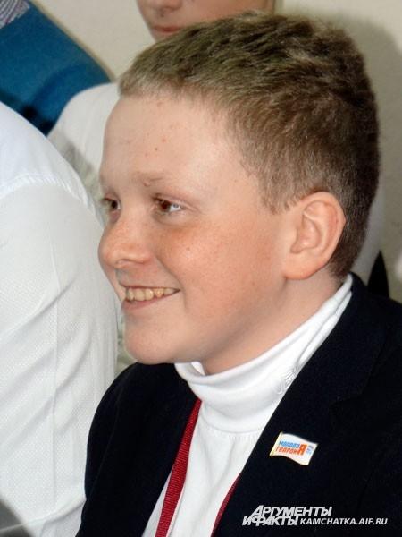 Очень молодой политик