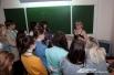 Молодых журналистов на форуме обучал и наш корреспондент
