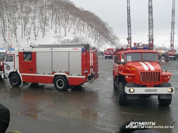 Пожарный «вальс»