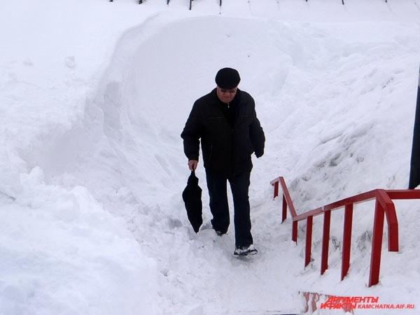 Камчатские лестницы…