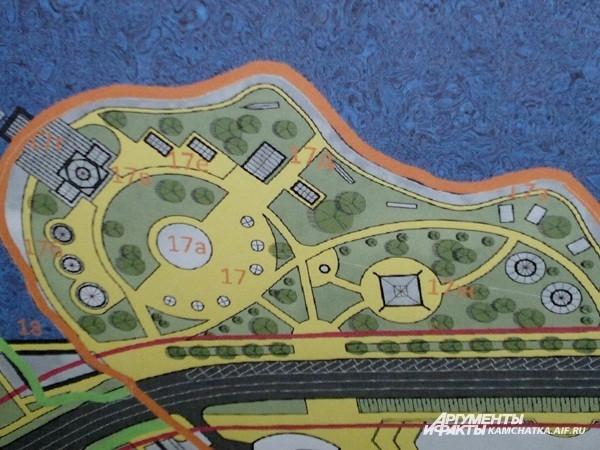 Так планы этнической деревни выглядят на схеме