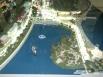 Панорама будущего центра города... с плавучим фонтаном посреди озера