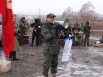 Организатор Константин Третьяков зачитал оригинальное обращение советских командиров к солдатам перед штурмом Берлина, а затем выдуманное — от немецких солдат