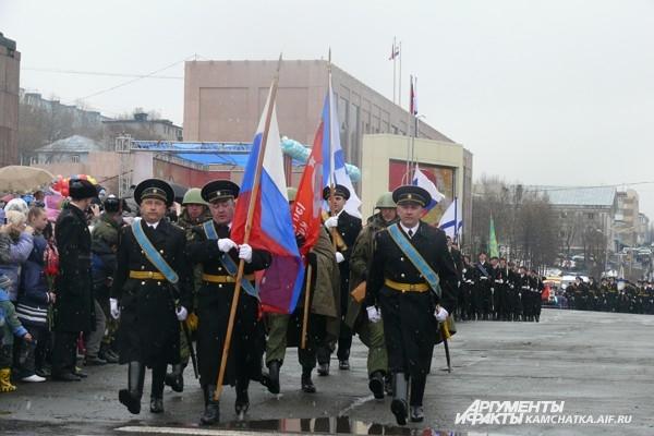 Парад от военных