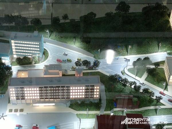Та же цель — у новой дороги на месте кинотеатра «Камчатка»