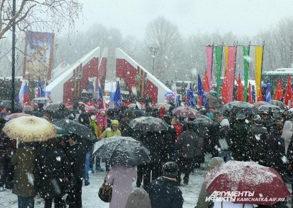 9 мая на Камчатке царила непогода