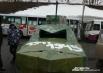 Много картонных коробок, и «Субару Форестер» превратился в военный агрегат!
