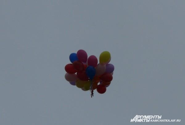 Воздушный «салют» в честь Дня Победы