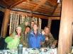 В рабацкой хижине путешественников кормили ухой и поили водкой