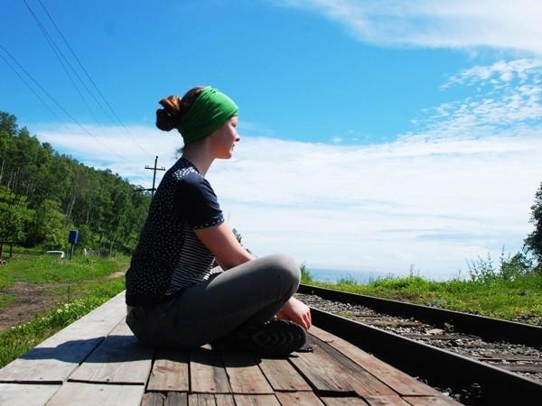 Медитация на рельсах. Станция 154 км КБЖД