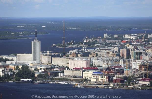 Над Архангельском