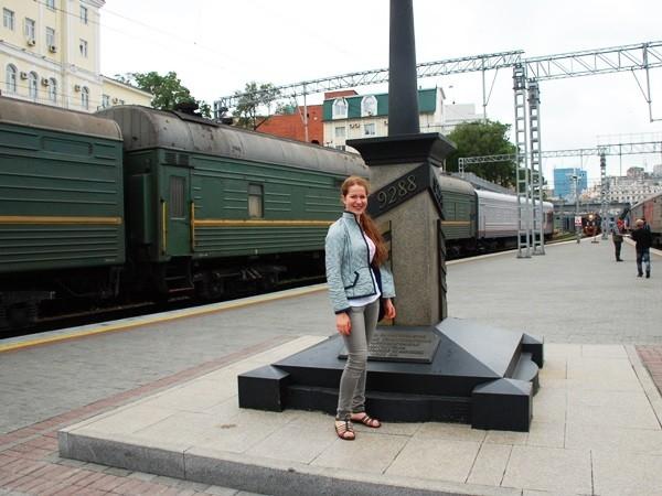 Владивосток. 9288 км от Москвы