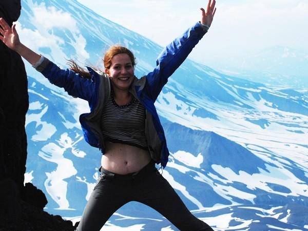 Покорила вершину!