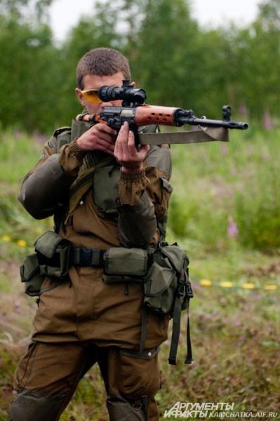 Снайпер на позиции