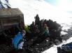 Встреча с туристами под Ключевским