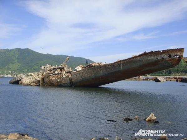 Этот корабль был затоплен в конце 90-х