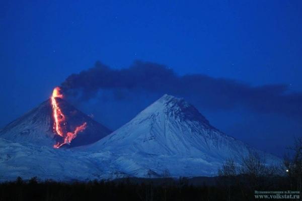 Огонь на склоне