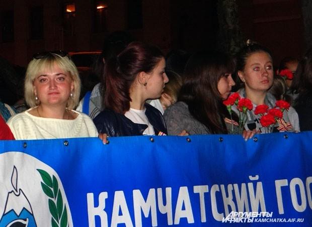 Большинство участников митинга — студенты