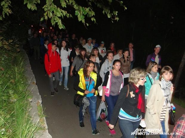 Участие в шествии приняли пару тысяч человек