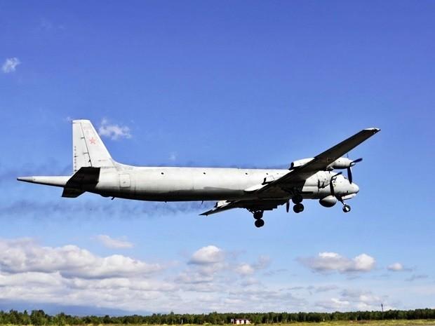 В учениях принимали участие противолодочные самолёты Ил-38...
