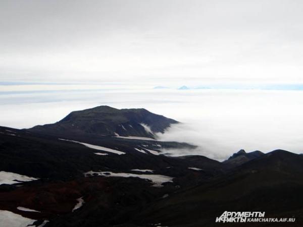 Туман очень быстро «съедал» окрестности