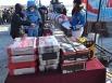 Подарки для победителей «Зимней линии» в Яйском районе