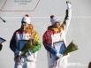 Награждение паралимпийского чемпиона Романа Дубового и сурдлимпийца Руслана Лебедева.