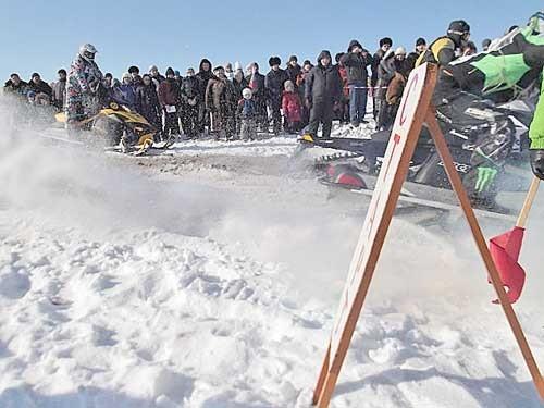 Снегоходчики стартуют