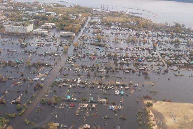 Затоплённые города
