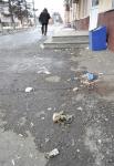 Осмотрев тротуары, можно сделать вывод, что кемеровчане много курят, не могут попасть окурком в урну из-за какого физического недуга, а коммунальщики хотят только зарплату получать