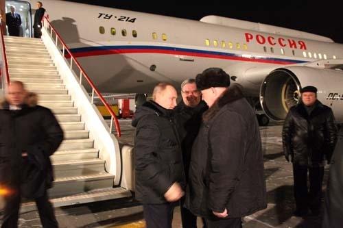 Премьер-министр России Владимир Путин на Кузбасской земле.