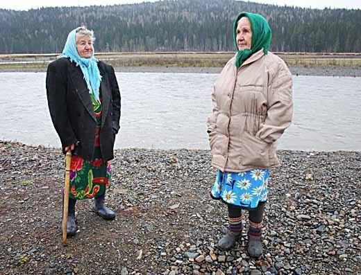 Старожилы Усть-Кабырзы