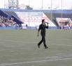 Футбол-футбол, а выступить тоже нужно. Петр Дранга порадовал зрителей своими хитами