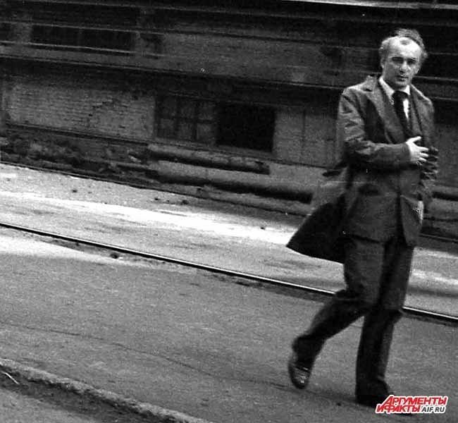 Металл. 1970. Выходец из КМК мэр Новокузнецка Валерий Смолего