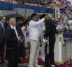 Губернатор наградил участников памятными знаками