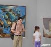 На выставке Андрея Дрозда