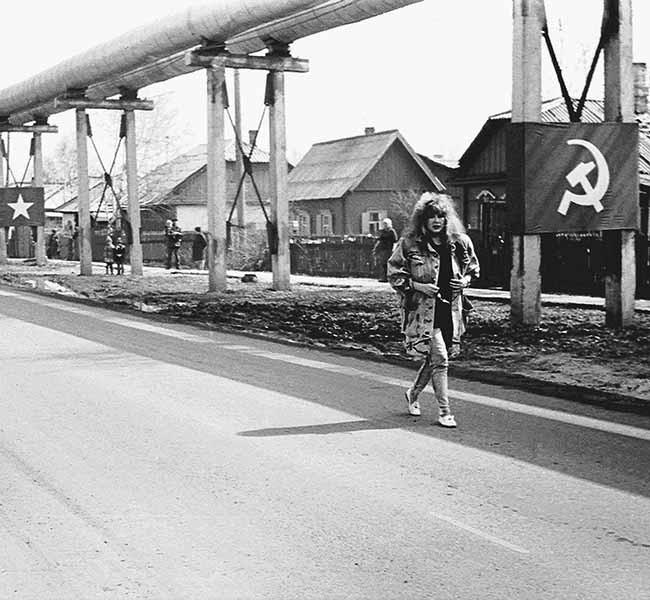 Предзаводской поселок. Алла Пугачева. 1988