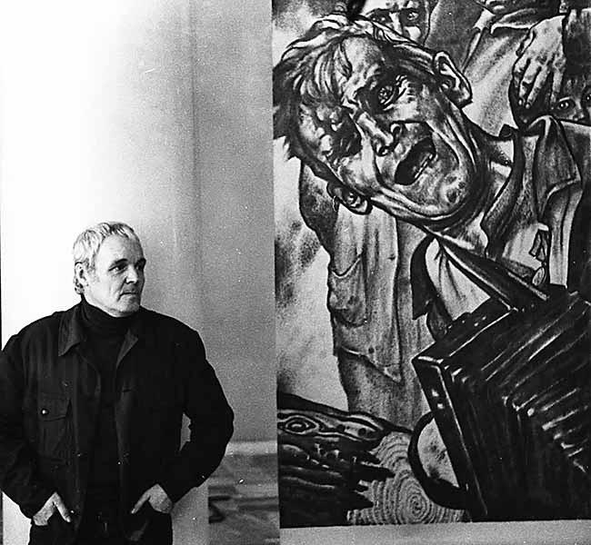 Художник Герман Захаров. 1986