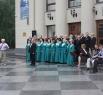...а на площади у театра им. Боброва состоялся свой праздник