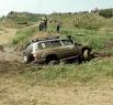 Даже Японские джипы  вязли в Яйской грязи