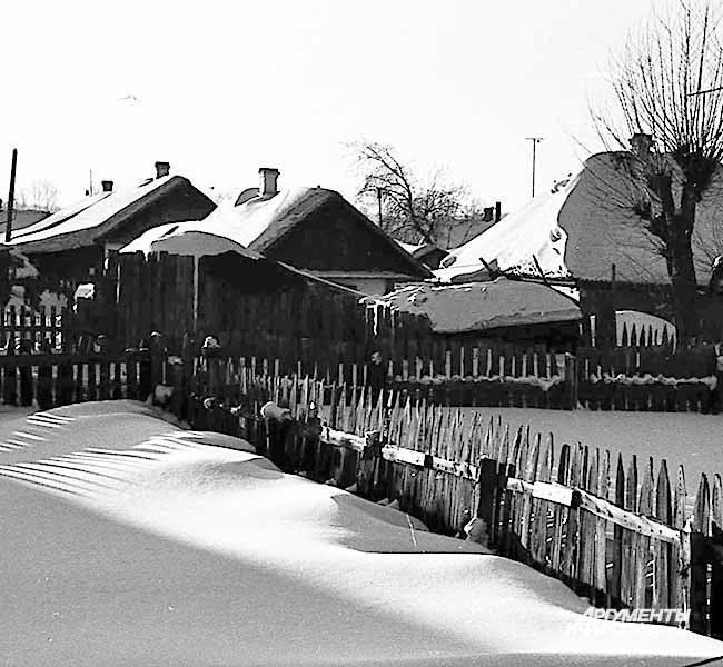 Шахтерский микрорайон. 1970-е годы