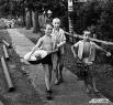 1968 г. Село Тальжино. Банный день