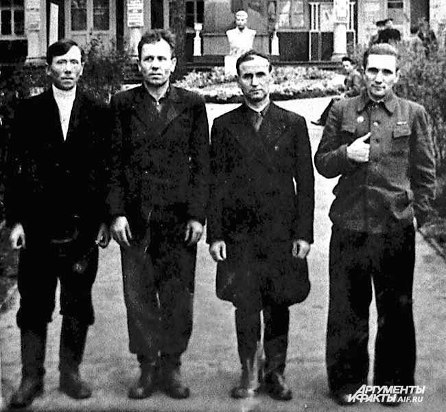Из архива Прокопьевского рудника. В шахтерском санатории. 1950-е годы