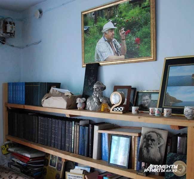 Тальжино. Часть экспозиции музея