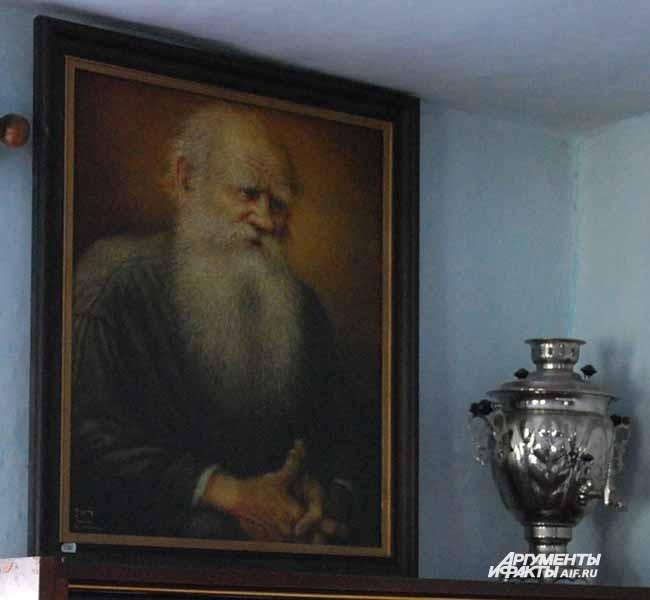 Тальжино. Экспонаты музея