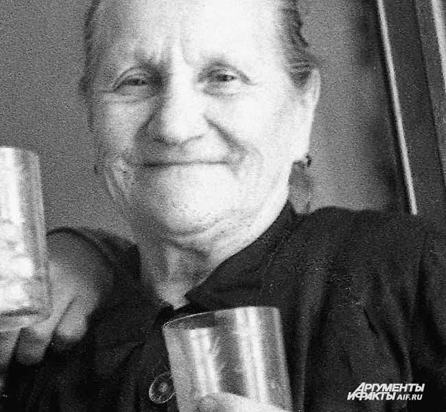 Мать четверых шахтеров. 1970-е годы
