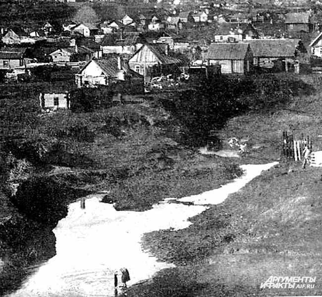 Из архива Прокопьевского рудника. Поселок Голубевка. 1929 год