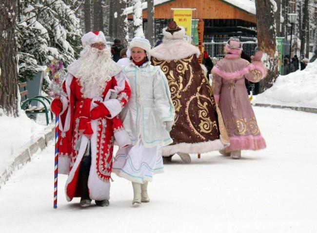 Какой же Дед Мороз без Снегурочки?